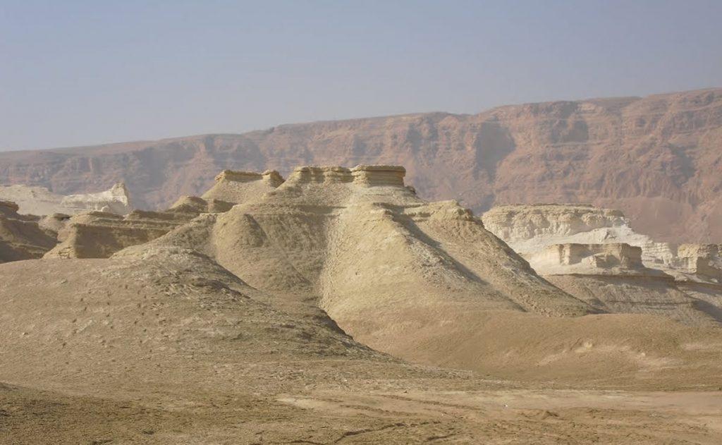 Vista panoramica de Sodoma